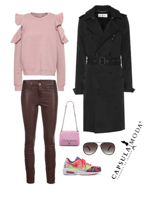 outfit frío casual
