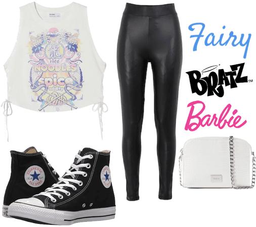 Barbie, bratz,fairy