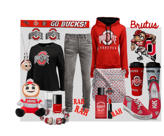 Ohio State University Outfit
