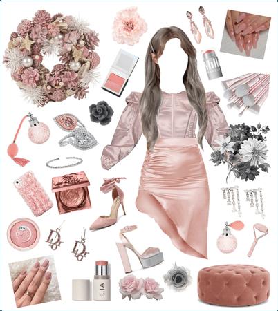 Blush & Grey Proposal