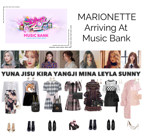 {MARIONETTE} Arriving At Music Bank