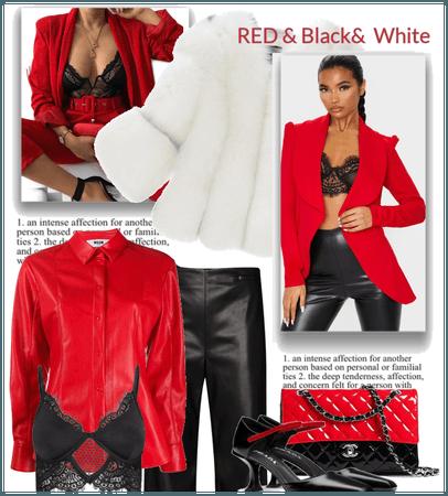 Red&Black&White