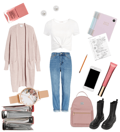 Casual school outfit