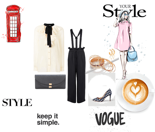 vogue simple and classy