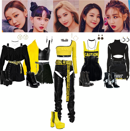 SECRET NUMBER ~ Who Dis stage outfits