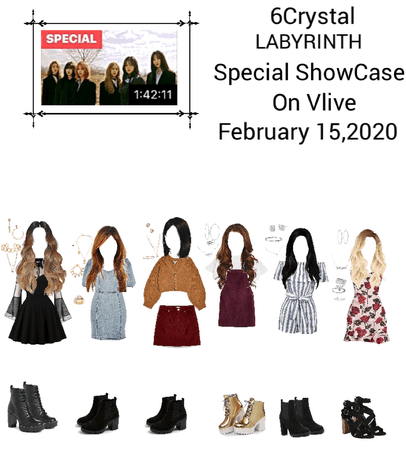 6Crystal LABYRINTH special showcase on Vlive February 15,2020
