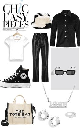 very chic / black&white