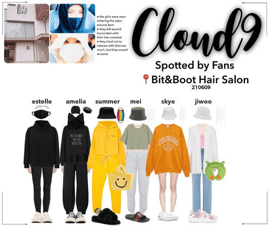 Cloud9 (구름아홉) | Spotted By Fans!
