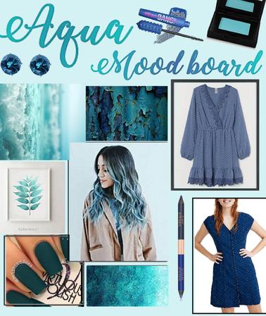 Aqua Mood Board
