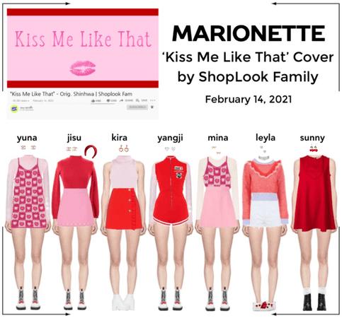마리오네트 (𝗠𝗔𝗥𝗜𝗢𝗡𝗘𝗧𝗧𝗘) - 'Kiss Me Like That' Cover by ShopLook Family