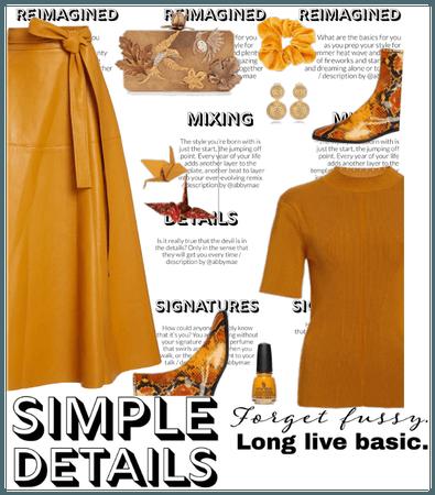 leather skirt- new season fall 2020