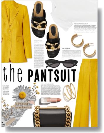 marigold in spring 💛
