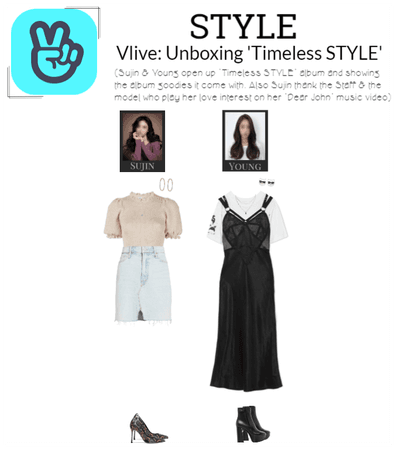 STYLE Vlive: Unboxing 'Timeless STYLE'