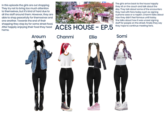 {ACES HOUSE} EP.5 Shopping