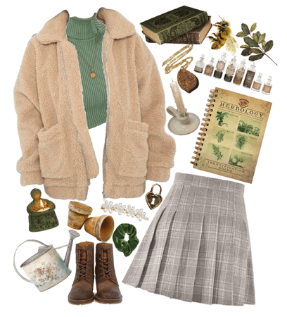 Pomona Sprout- Outfits Inspired by Professors