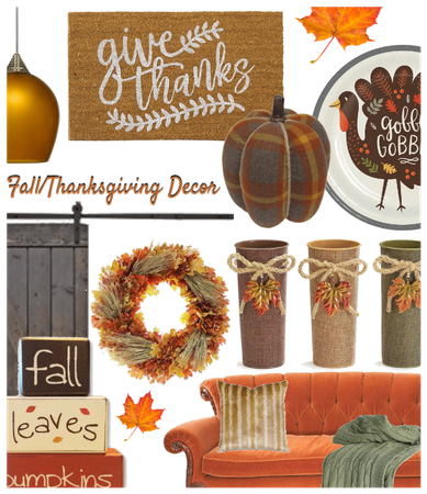 Fall/Thanksgiving Decor