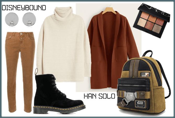 Disneybound Han Solo