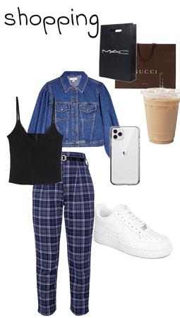 shopping cute