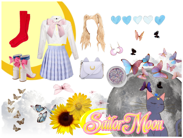 Sailor Moon inspired outfit
