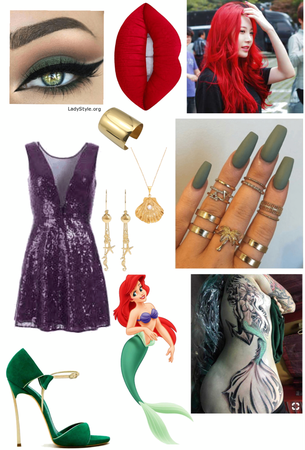 Ariel (The Little Mermaid) Outfit