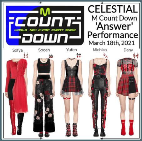 세레스티알 (Celestial)   M Count Down - 'Answer'- Perf.