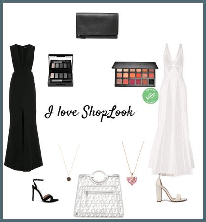 Black or White dress