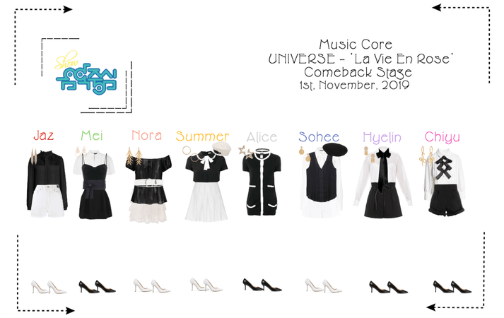 UNIVERSE Show! Music Core 'La Vie En Rose'