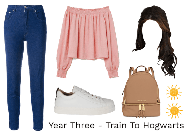 Year Three - Train To Hogwarts