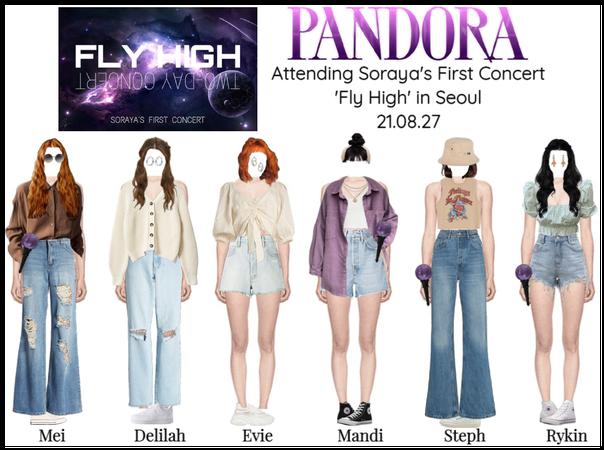 PANDORA at 'Fly High' Soraya's First Concert