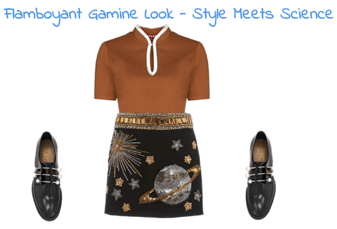 Flamboyant Gamine Look - Style Meets Science