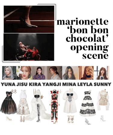 {MARIONETTE} 'Bon Bon Chocolat' M/V Opening Scene