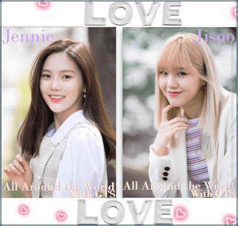 All around the world with gts Jennie,jisoo Photo