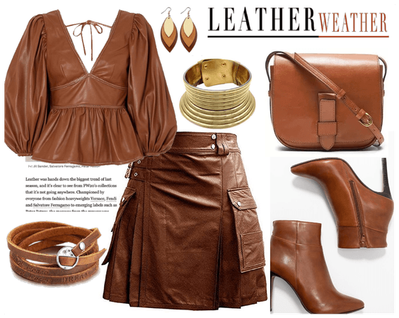 Addicted to brown leather