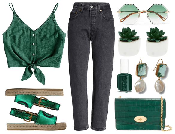 Green mood.