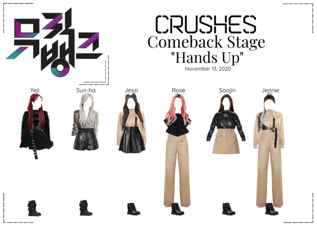 "Crushes (호감) ""Hands Up"" Comeback Stage"