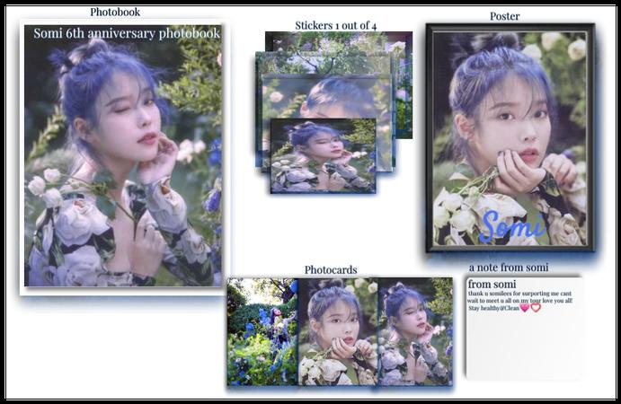 Somi 6th Anniversary Photobook