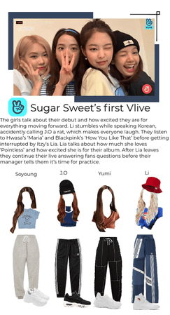 Sugar Sweet First vlive