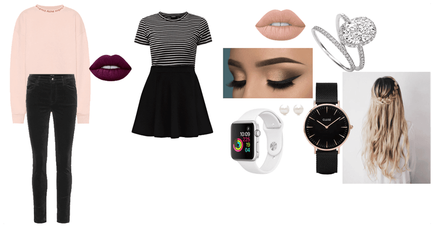 Fall Outfits (2) + Accessories & Makeup