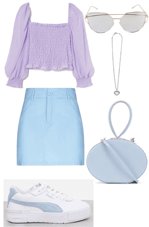 Purple-Blue Pastels