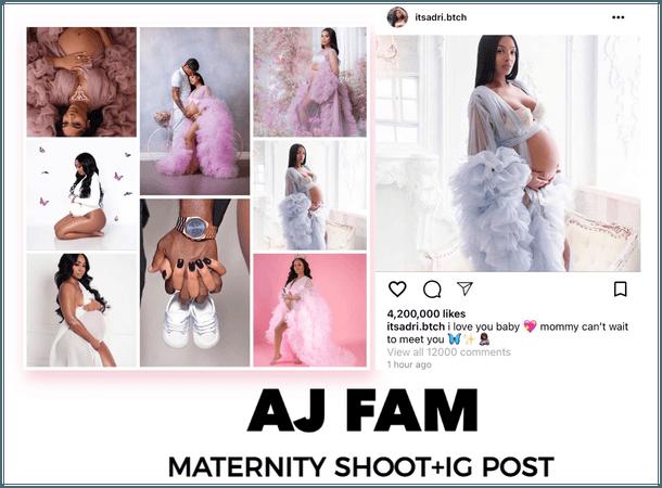 AJ FAM  Maternity Shoot + Ig Post