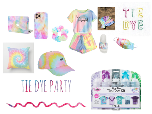 Kids Tie Dye Party