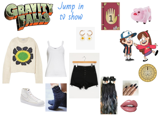 Jump in tvshow - Gravity Falls