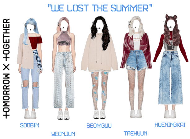 txt we lost the summer but the outfits are good