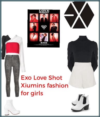 Exo Love Shot Xiumins fashion for girls