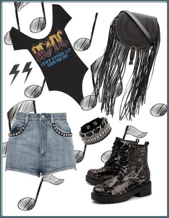 Rock Concert Chic