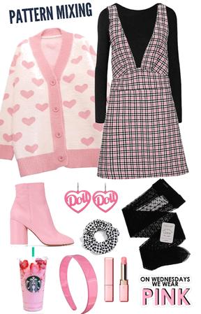 Pink Pattern Mixing