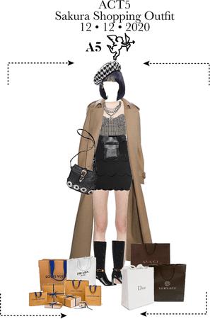 Sakura - Shopping Outfit