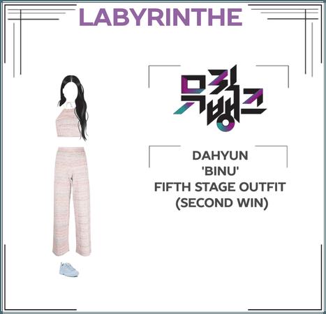 Dahyun binu fifth stage outfit