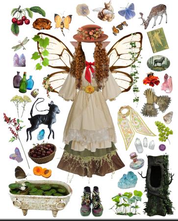 moss fairy