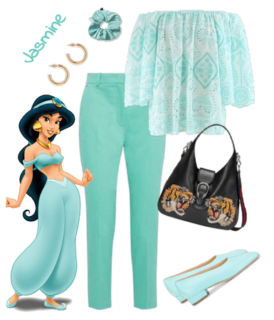 Jasmine outfit - Disneybounding - Disney